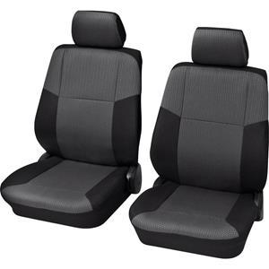 HP Autozubehör Schonbezug Sylt VS 4tlg. Sitzbezug 4teilig Polyester Schwarz Fahrersitz, Beifa