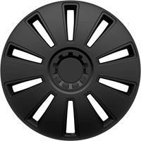 hpautozubehör HP Autozubehör GRID Wieldoppen R15 Zwart 1 stuk(s)