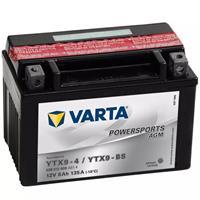 Varta Motor AGM Powersports Accu / Batterij AGM YTX9-4 / YTX9-BS