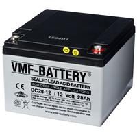 VMF VGM AGM Deep Cycle accu 12 V 12 Ah DC28-12