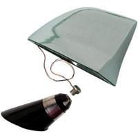 mijnautoonderdelen Genuine SharkFin Antenne 100% Brass AS AN14C