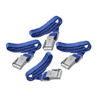 Pro Plus Fiets spanbanden met metalen gesp voor fietsdrager 4 stuks - Bindriemen - Fietsriemen - Sjorbanden - Bevestigingsriemen