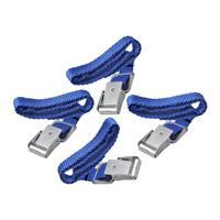 Pro Plus Fiets spanbanden met metalen gesp voor fietsdrager 8 stuks -