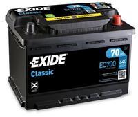Exide Classic Accu EC700 70Ah EC700