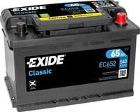 Exide Classic Accu EC652 65Ah EC652