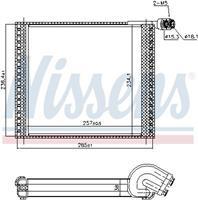 Nissens Verdamper, airconditioning 92338