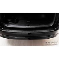 Avisa Zwart RVS Achterbumperprotector passend voor Skoda Octavia IV Kombi 2020- 'Ribs' AV245241