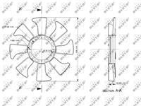 NRF Koelventilatorwiel 49867