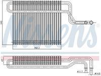 Nissens Verdamper, airconditioning 92347