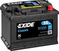 Exide Classic Accu EC550 55Ah EC550