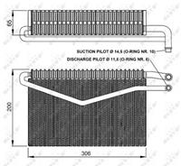 NRF Verdamper, airconditioning 36152
