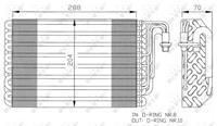 NRF Verdamper, airconditioning 36075