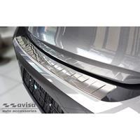 Avisa RVS Achterbumperprotector passend voor Opel Corsa F Edition/Elegance HB 5-deurs 2019- 'Ribs' AV235484