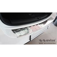 Avisa RVS Achterbumperprotector passend voor Seat Leon IV ST 2020- 'Ribs' AV235490