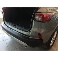 Avisa Zwart RVS Achterbumperprotector passend voor Ford Kuga III Titanium/Trend/Cool+Connect 2019- excl. S AV245239