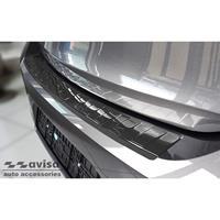 Avisa Zwart RVS Achterbumperprotector passend voor Opel Corsa F Edition/Elegance HB 5-deurs 2019- 'Ribs' AV245260