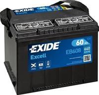 Exide Accu Excell EB558 55 Ah EB558