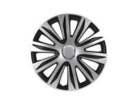 PETEX Set 15 inch Nardo zilver/zwart | , zwart/zilver