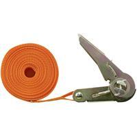 TOOLCRAFT TO-6802776 Spanband (eendelig) Trekkracht (lc) vastbinden (enkel/direct)=350 daN (l x b) 6 m x 25 mm