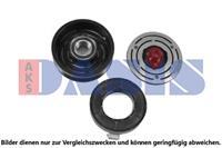 AKS DASIS Magneetkoppeling, airconditioningcompressor | , 12 V