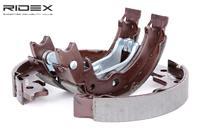 RIDEX Handbremsbeläge 1419B0010 Handbremsbacken,Bremsbackensatz, Feststellbremse DAEWOO,CHEVROLET,LACETTI Schrägheck KLAN,NUBIRA Stufenheck KLAN