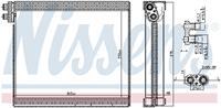 Nissens Verdamper, airconditioning 92365