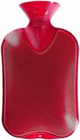 Fashy Kruik Warm Water Zak Cranberry Dubbele Rib (2ltr)