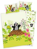 Baby Best Beddengoed De Kleine Mol 100 x 135 cm - Groen