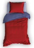 duimelot Dekbedovertrek Femke Rood-100 x 135 cm