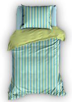 duimelot Dekbedovertrek Pelle Aqua-100 x 135 cm