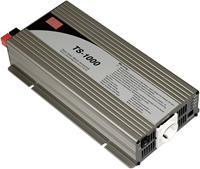 Mean Well TS-1000-224B Omvormer 1000 W 21 - 30 V/DC Schroefklemmen Randaarde contactdoos