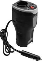 Autolader 12V adapter met 2 USB poorten en stekker
