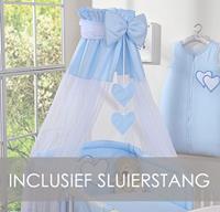 My Sweet Baby Hemeltje Strik Blauw (incl Sluierstang)