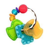 Infantino BKids Schieb- und Beiß-Schlüssel bunt
