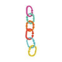 Rotho Babydesign GmbH RothoPlaygro Kinderwagenkette Loopy Links, 24-teilig