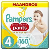 Premium Protection Pants Active Fit - Maat 4 - Maandbox - 160 luierbroekjes