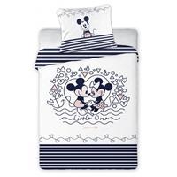 Disney dekbedovertrek Mickey & Minnie Mouse 100x140cm/60x40cm