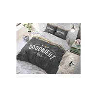 Dreamhouse Goodnight Kiss Anthracite Antraciet 140 x 220