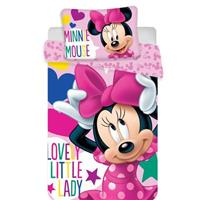 Disney Minnie Mouse Baby Dekbedovertrek Ribbon 100x135cm