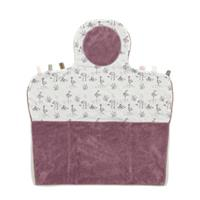 Snoozebaby verschoonmatje Easy Changing 50x70 cm soft mauve