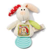 Nici My First Bijtring konijn - Kleurrijk
