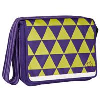 Lässig Luiertas Casual Messenger Bag dark purple - Paars