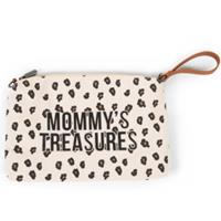 CHILDHOME Mommy Clutch Leopard - Beige