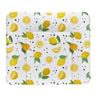 Rotho Babydesign Wickelauflage Lemon Chill weiß 72 x 85 cm
