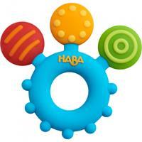 HABA bijtspeeltje kleurenspel junior 8,5 x 1 cm siliconen