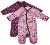 Pippi Schlafanzug 2er Pack  lila