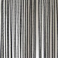 String gordijn - zwart (3 x 4 meter)