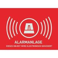 ABUS - Alarm Warning Photo Sticker (AU1323)