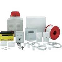 ABUS AZ4301 Alarmsysteemset Aantal alarmzones 8x draadgebonden, 1x sabotagezone