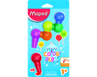 Waskrijt maped baby early aged blister Assorti